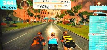 triathlon videogame